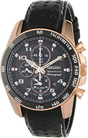 Seiko Sportura Solar Chronograph Men's Watch