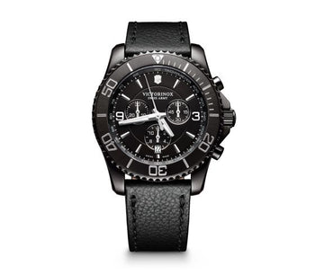 Victorinox Maverick Chronograph Black Edition Watch