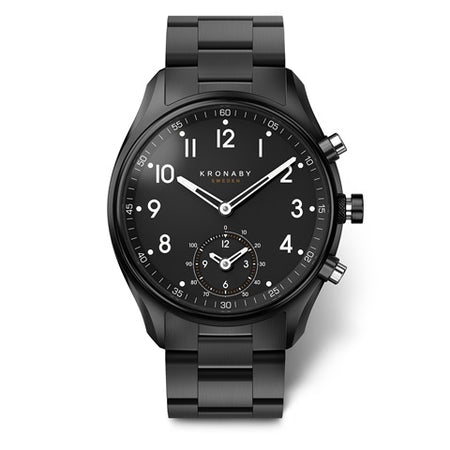 Apex 43mm Black - Black, Bracelet