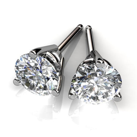 .58ct Diamond Stud Earrings