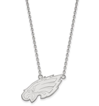 Philadelphia Eagles Large Pendant With Necklace