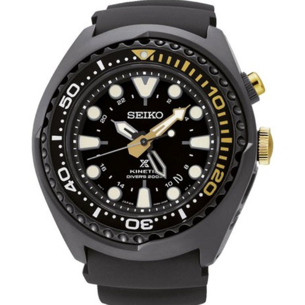 Seiko 50th Anniversary Prospex GMT Kinetic Shrouded Men's Diver's Watch