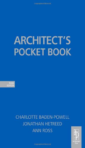 Architecture student starter bundle: Architect's Pocket Book, Third Edition