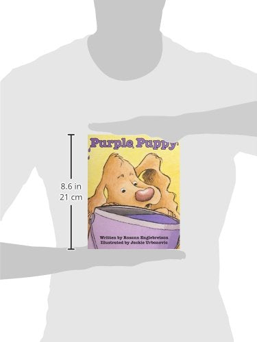 READY READERS, STAGE ABC, BOOK 12, PURPLE PUPPY, SINGLE COPY