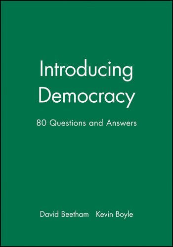 Introducing Democracy: 80 Questions and Answers