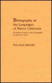 Bibliography of the Languages of Native California