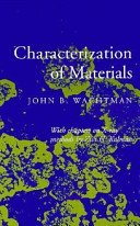 Characterization of Materials