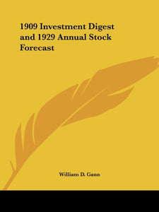 1909 Investment Digest and 1929 Annual Stock Forecast