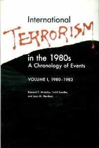 001: International Terrorism in the 1980's: A Chronology of Events, 1980-1983