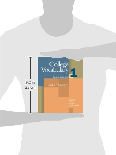 College Vocabulary, 1 (Houghton Mifflin English For Academic Success)