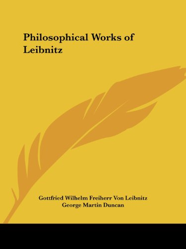 Philosophical Works of Leibnitz