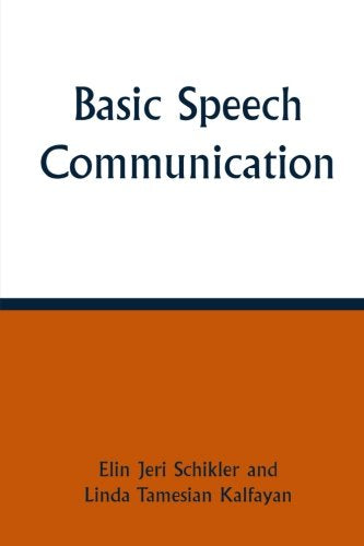 Basic Speech Communication