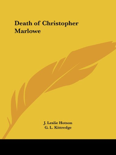 Death of Christopher Marlowe
