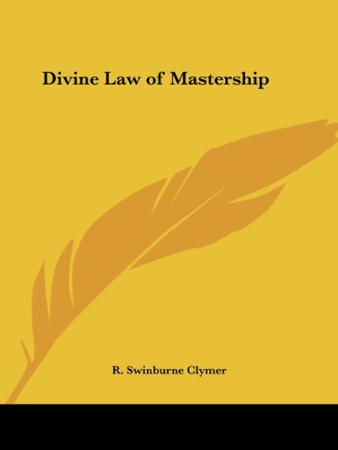 Divine Law of Mastership