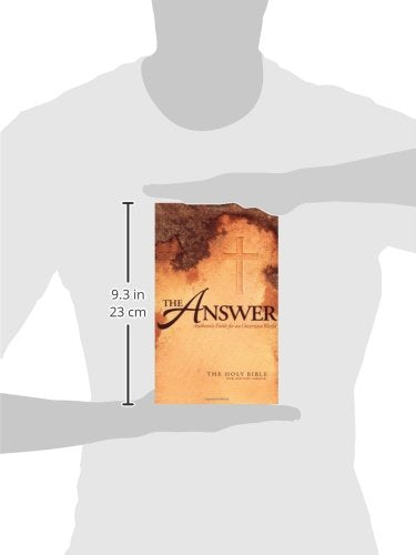 The Answer: Authentic Faith For An Uncertain World - The Holy Bible, New Century Version