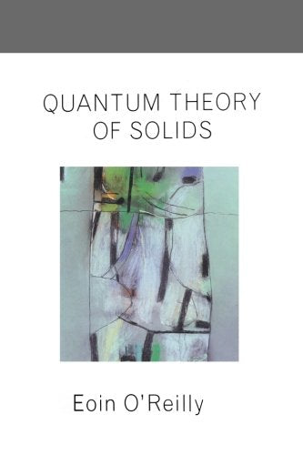 Quantum Theory of Solids (Master's Series in Physics and Astronomy)