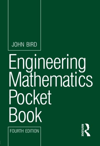 Engineering Mathematics Pocket Book, 4th ed (Routledge Pocket Books)