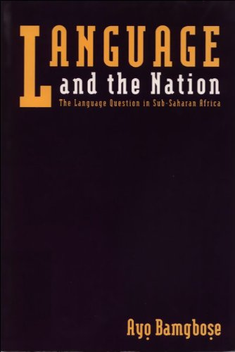 Language and the Nation