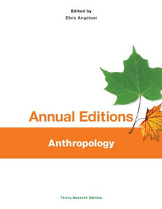 Annual Editions: Anthropology, 37/e