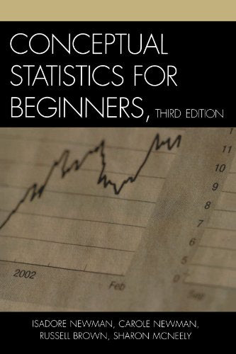 Conceptual Statistics for Beginners