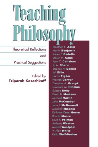 Teaching Philosophy: Theoretical Reflections and Practical Suggestions