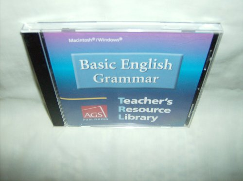 BASIC ENGLISH COMPOSITION TEACHERS RESOURCE LIBRARY ON CD-ROM FOR WIN   DOWS AND MACINTOSH (Ags Basic English Composition)