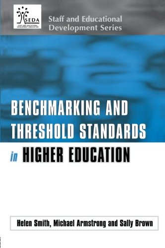 Benchmarking and Threshold Standards in Higher Education (SEDA Series)