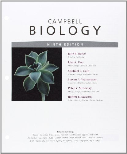 Campbell Biology, Books a la Carte Edition (9th Edition)