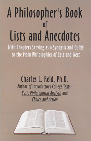 A Philosopher's Book of Lists and Anecdotes