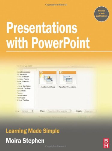 Presentations with PowerPoint (Learning Made Simple)