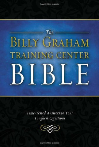 The Billy Graham Training Center Bible: New King James Version