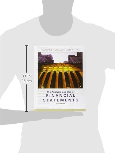 The Analysis And Use Of Financial Statements