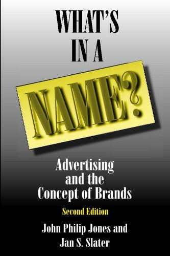 What's in a Name?: Advertising and the Concept of Brands