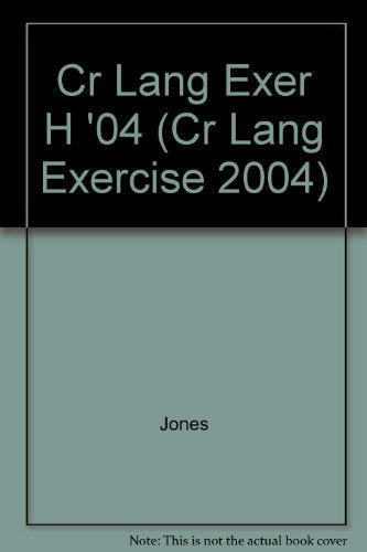 Language Exercises: Level H (Cr Lang Exercise 2004) (Steck-Vaughn Language Exercises)