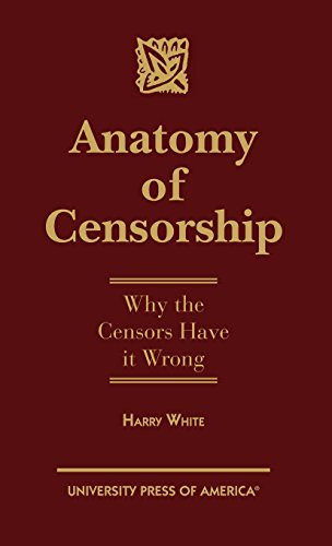 Anatomy of Censorship: Why the Censors Have it Wrong