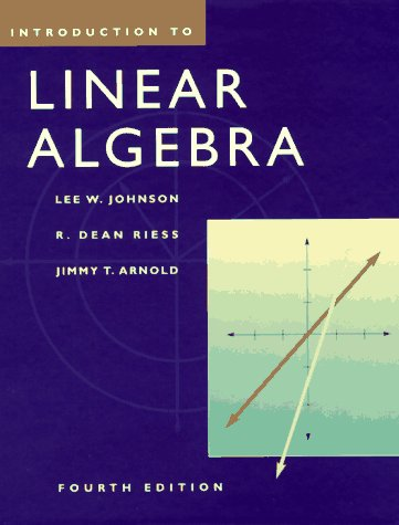 Introduction to Linear Algebra (4th Edition)