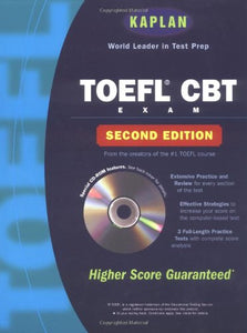 Kaplan TOEFL CBT W/CD-Rom, 2nd Edition (Kaplan TOEFL IBT (w/CD))