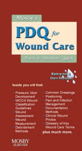 Mosby'S Pdq For Wound Care, 1E