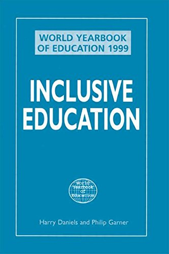 World Yearbook of Education 1999: Inclusive Education (Volume 29)