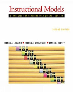 Instructional Models: Strategies For Teaching In A Diverse Society