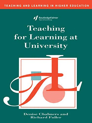 Teaching for Learning at University (Teaching and Learning in Higher Education)