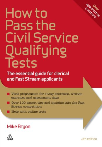 How to Pass the Civil Service Qualifying Tests: The Essential Guide for Clerical and Fast Stream Applicants (Elite Students Series)