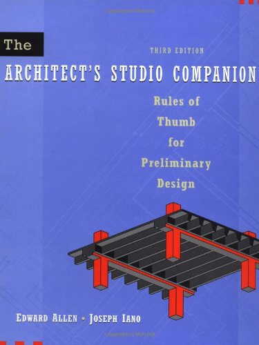 The Architect'S Studio Companion, 3Rd Edition