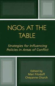 NGOs at the Table: Strategies for Influencing Policy in Areas of Conflict