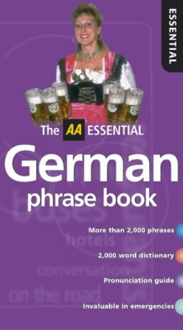 AA Essential German Phrasebook (AA Essential Phrase Book) (English and German Edition)