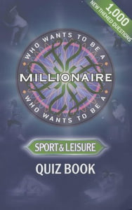 Who Wants to be a Millionaire?: Sports: Quiz Book