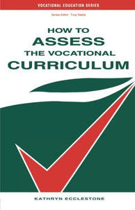 How to Assess the Vocational Curriculum (Vocational Education)