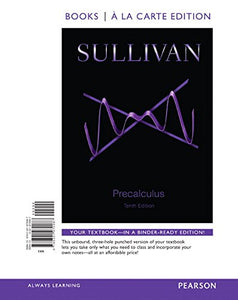 Precalculus, Books a la Carte Edition (10th Edition)