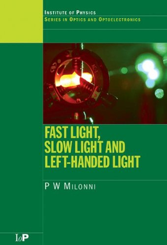 Fast Light, Slow Light and Left-Handed Light (Series in Optics and Optoelectronics)