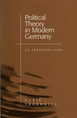 Political Theory in Modern Germany: An Introduction